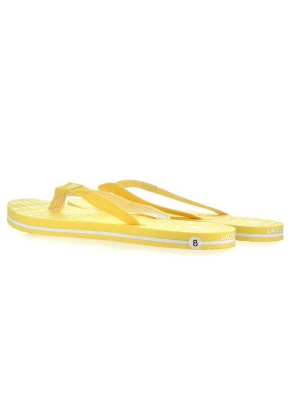 Lacoste Mens Yellow Puerto Net Flip