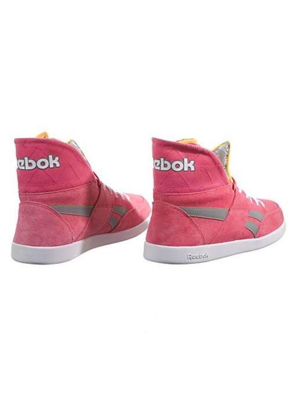 Reebok Classic Womens Pink Hi Top